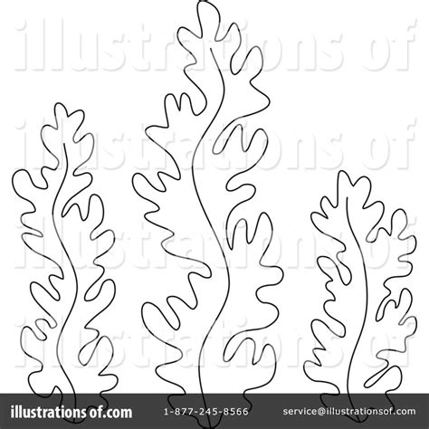 seaweed black and white clipart clipart suggest