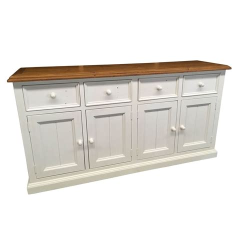 White Sideboard Buffet Bordeaux Timber Sideboard Buffet Distressed White Buy
