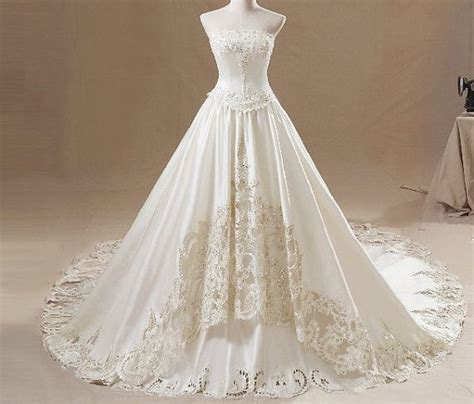 Wedding Dresses Handmade - wedding dress handmade bridal gown wedding gown