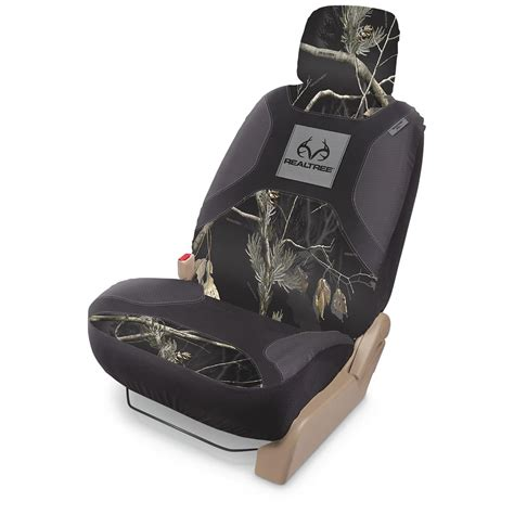 realtree camo seat covers canada universal low back camo seat cover 653097 seat covers