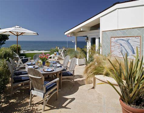 a colorful beach cottage in santa barbara ca completely santa barbara beach house tropical patio santa
