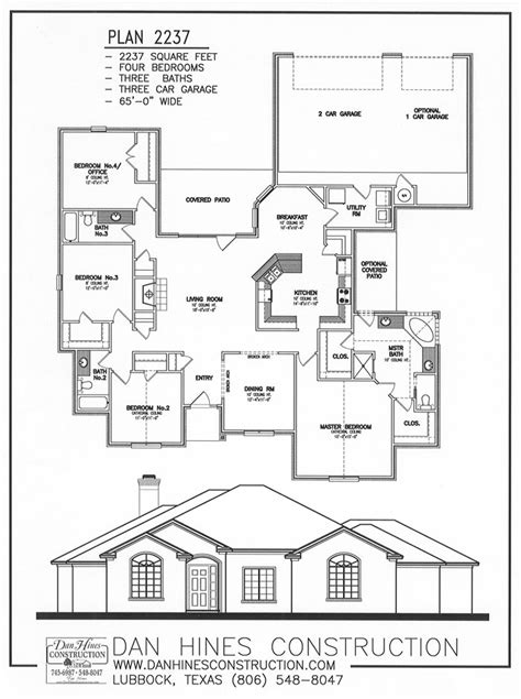 Rear Entry House Plans by Rear Entry Garage House Plans