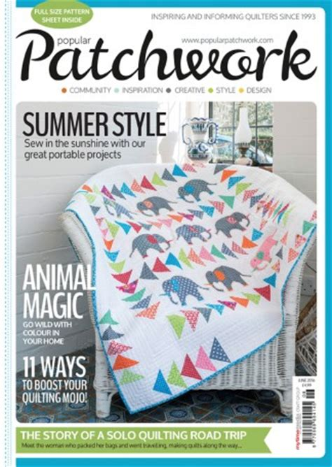 Patchwork Magazine - patchwork and quilting in craft whsmith