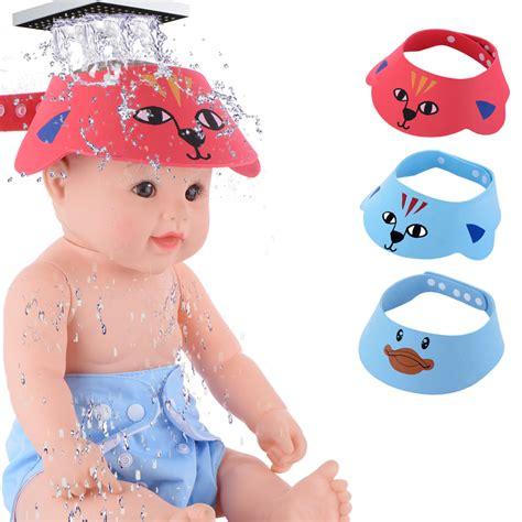 Baby Shower Visor by Shoo Cap Baby Shower Hat Bathing Visor For Bath