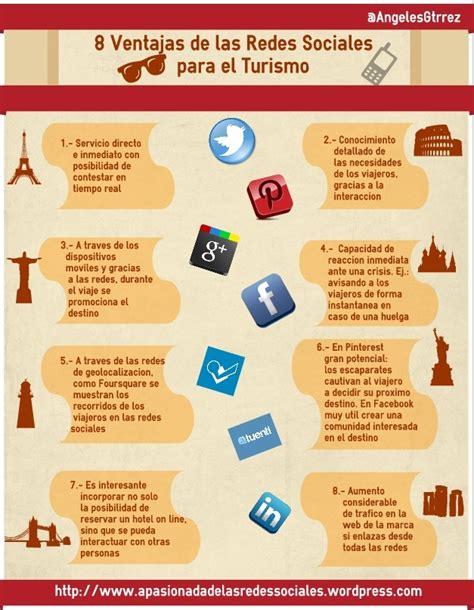 8 ventajas de las redes sociales para el turismo apasionada de las redes sociales