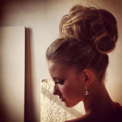 Wedding Hair Bun by Wedding High Bun Hair