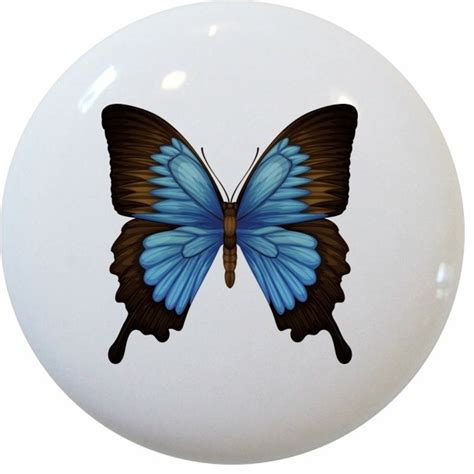Butterfly Knobs by Blue Mountain Swallowtail Butterfly Knob Traditional