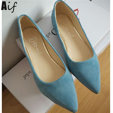 comfortable pointed toe flats 2016 fashion women shoes woman flats high quality suede