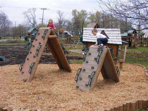 diy outdoor climbing wall kids playgrounds on pinterest playground natural