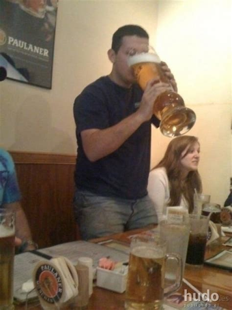 bicchieri giganti cerveza enorme comida carteles hudo es