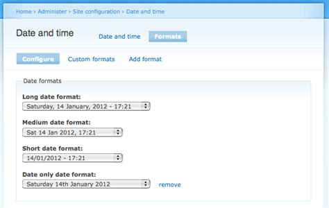 php date readable format show the machine readable name for date formats 1028676