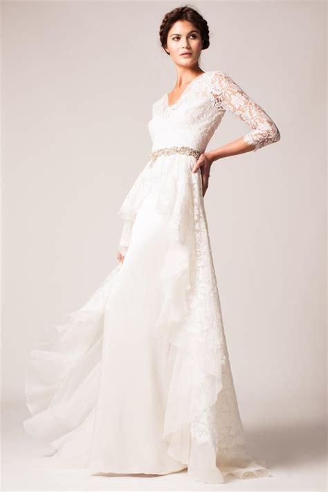 30 exquisite elegant long sleeved wedding dresses chic