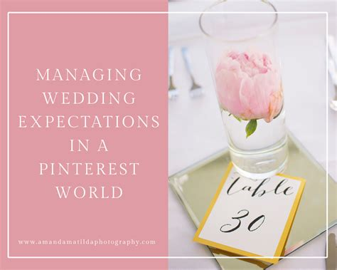 Wedding Expectations by Managing Wedding Expectations In A World