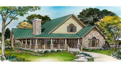 small rustic house plans with porches small country house