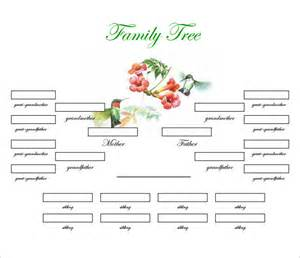 family tree template free 3 generation www imgkid com