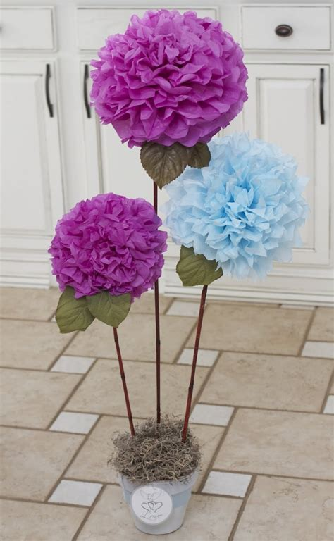 How To Make Paper Flowers For Wedding Decorations - 25 best ideas about paper flower centerpieces on
