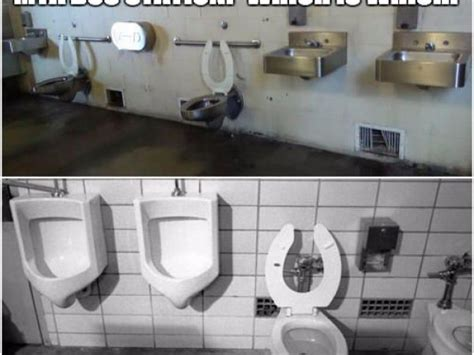 public bathroom meme prison or bus station bathroom meme goes viral mta