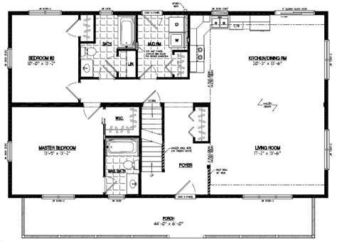 28x48 floor plans certified homes mountaineer deluxe certified home floor