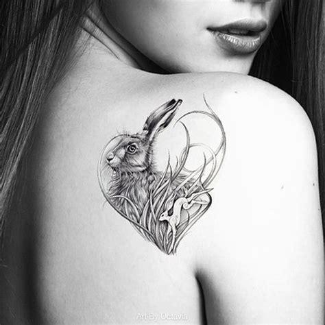 easter bunny tattoo ideas girlshue
