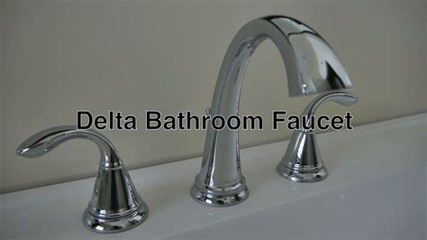delta lockwood widespread faucet