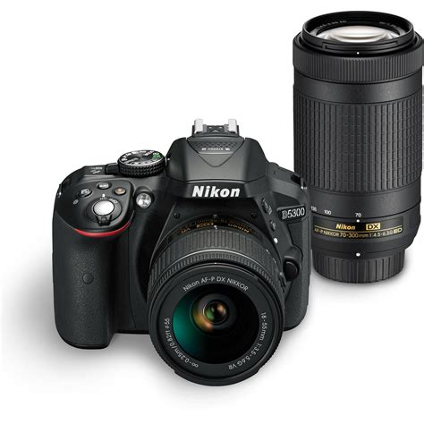 nikon  dslr camera dual lens kit  bh photo video