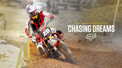 fox racing motocross fox racing team chasing dreams