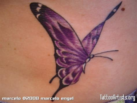 purple tattoo purple butterfly tattoo artists org