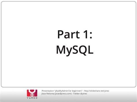 joomla tutorial for beginners ppt joomla phpmyadmin for beginners