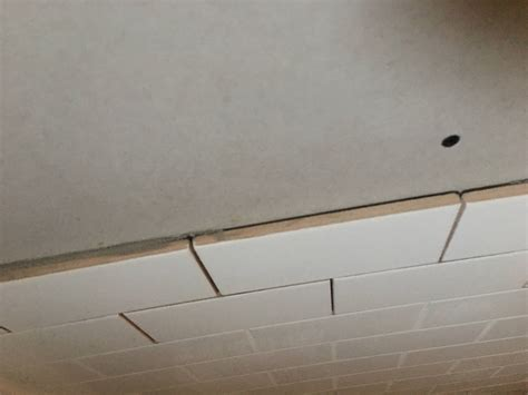 Transitional Wall tile to wall transition diyxchanger queryxchanger