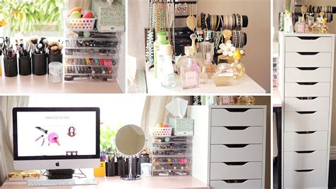 Makeup Collection Vanity by Makeup Collection Storage Vanity Tour Dec 2014