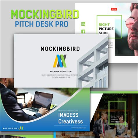 Pitch Desk by Media Templates