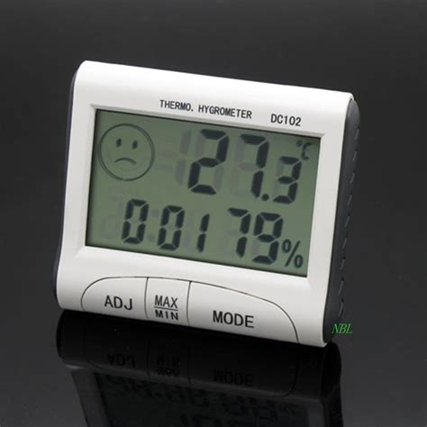 Weather Station Humidity Temperature Alarm Desk Clock Jam Alarm mini lcd digital indoor thermometer hygrometer temperature humidity meter clock desk weather