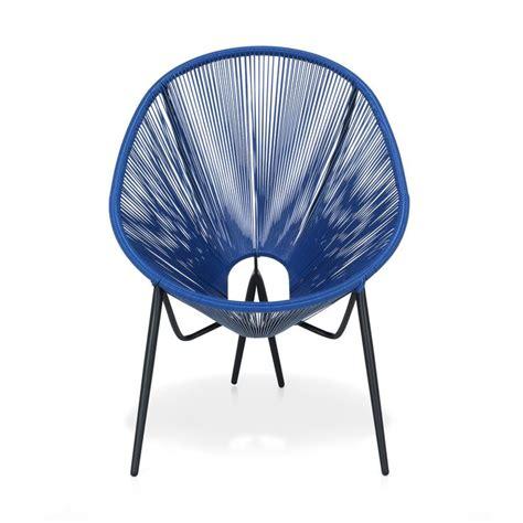 Chaise En Fil Scoubidou by Alinea 90 Fauteuil De Jardin R 233 Tro En Fils Scoubidou Bleu