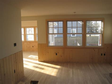 Pine Wainscoting by V Grooved Pine Wainscoting C Decorating