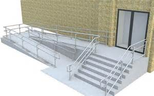 Disabled Handrails Disabled Wheel Chair Users Stair Handrails