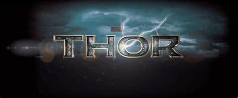 Thor World Logo 2 thor 2 trailer in stunning gif s