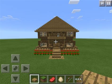 how to build a house in minecraft pe how to make a minecraft house