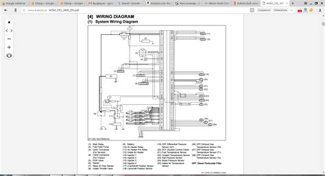 kubota tractor manuals pdf wiring diagrams truck