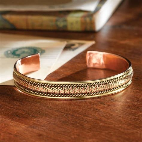 Handcrafted Copper Bracelets - handcrafted himalayan copper bracelet