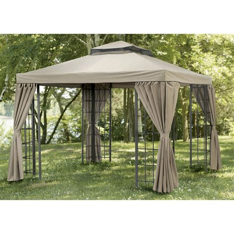 gazebo pagoda deluxe pagoda gazebo 80630 patio furniture at