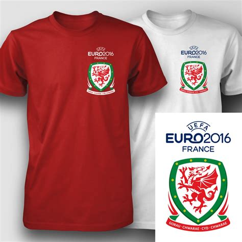 T Shirt 2016 2016 team wales football t shirts free delivery