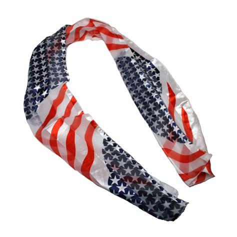 usa patriotic scarf