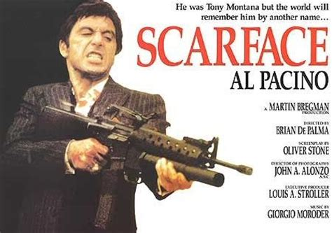 scarface movie poster 5 of 8   imp awards
