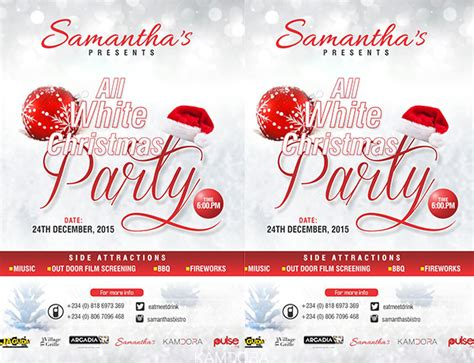 samantha s all white christmas party kamdora