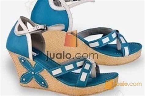 Wedges Branded Wanita Sandal Asli Bandung Ukuran 36 40 Rti Sdb580 sandal wanita wedges model terbaru jualo