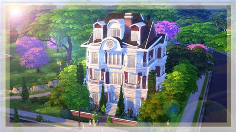 my dreamhouse the sims 4 house building w the sims 4 build l london dream house youtube