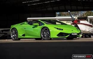 Lamborghini Harican 2016 Lamborghini Huracan Spyder Review