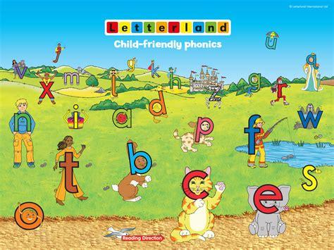 Letter Land desktop wallpaper letterland child friendly phonics