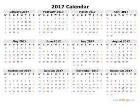 Printable Calendar October 2018 Weekly Calendar 2017 Weekly Calendar Template