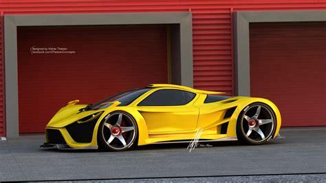 super concepts render scorpion supercar by thebian concepts gtspirit